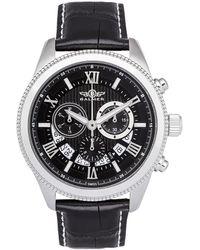 Balmer Men's Leather Watch - Metallic