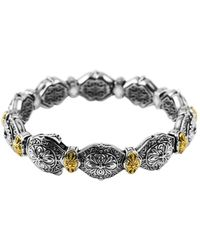 Konstantino 18k & Silver Bracelet - Metallic