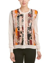 Emilio Pucci Printed Wool & Silk Cardigan - Multicolour