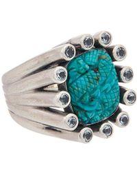 Stephen Dweck - Aurora Silver Gemstone Ring - Lyst