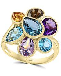 Effy 14k 6.33 Ct. Tw. Gemstone Ring - Blue