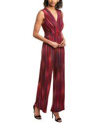 BCBGeneration Culotte Jumpsuit - Red