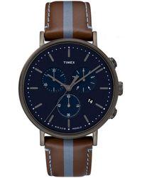 Timex Fairfield Watch - Blue