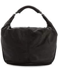 Liebeskind Berlin Leather Hobo - Black