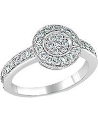 Sabrina Designs 14k 0.50 Ct. Tw. Diamond Ring - Metallic