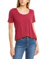 Three Dots Evelyn Tunic T-shirt - Purple