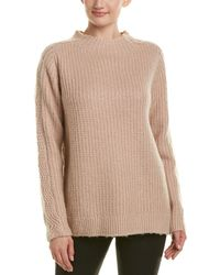 Reiss Anabella Wool-blend Sweater - Pink