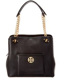 Tory Burch - Chelsea Small Slouchy Leather Tote - Lyst