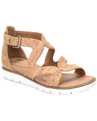 Söfft Malana Cork Sandal - Multicolour