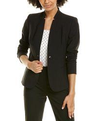 Elie Tahari Tori Wool-blend Jacket - Black