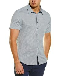 Stone Rose Knit Shirt - White