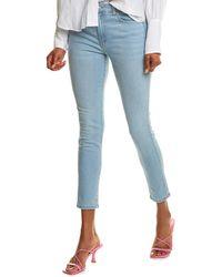 Siwy Sofi Warm Water High-waist Skinny Leg Jean - Blue