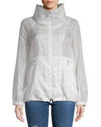 Akris Lightweight Hooded Jacket - Gray