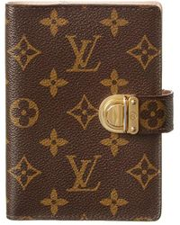 Louis Vuitton Monogram Canvas Koala Medium Ring Agenda Cover - Brown