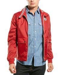 G-Star RAW Meson Biker Overshirt - Red