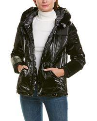 Cole Haan Grandseries Waterproof Down Coat - Black