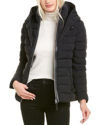 Mackage Andrea-rl Leather-trim Jacket - Black