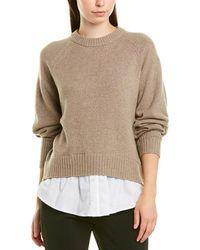 Brochu Walker Wool-blend Pullover - Brown