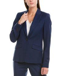 Brooks Brothers Wool-blend Jacket - Blue