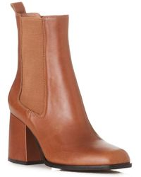 Alias Mae Pepa Leather Short Boot - Brown