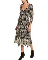 Marella A-line Dress - Black