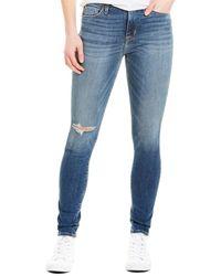 Hudson Jeans Blair Montmartre High-rise Super Skinny Leg - Blue