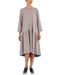 ANDREA CROCETTA - Angora-blend Dress - Lyst
