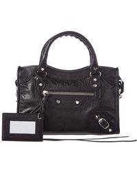 Balenciaga Classic City Aj Mini Tote Bag - Black