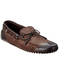 Tod's Gommino Leather Loafer - Brown