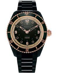 Alpina Women's Stainless Steel Watch - Multicolour