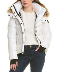 Sam. Annabelle Short Down Puffer Jacket - Multicolour