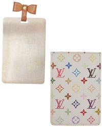 Louis Vuitton White Monogram Multicolore Canvas Etui Mirror