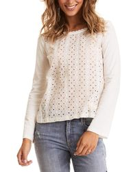Odd Molly Flying With Love Blouse - Multicolour