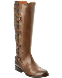 Frye - Jordan Strappy Tall Riding Boot - Lyst