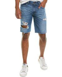 J Brand Eli Pointer Cut Off Short Jean - Blue