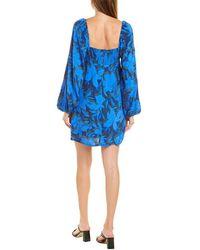 4si3nna Jamie Mini Dress - Blue