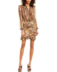 Ba&sh Rackel Sheath Dress - Brown