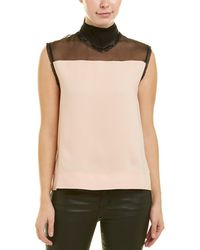 61920e5a38ade 10 Crosby Derek Lam - Scarf Neck Blouse - Lyst
