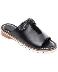 Bernardo Alice Leather Sandal - Black