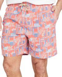J.McLaughlin Gibson Swim Trunk - Orange
