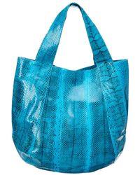 Beirn Jenna Tote Hobo Bag - Blue