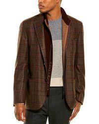 Corneliani - Wool Sport Coat - Lyst