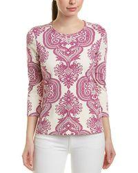 J.McLaughlin Catalina Cloth Top - White