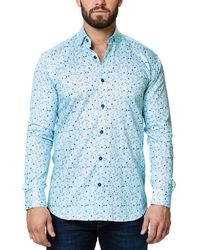 Maceoo - Luxor Webspread Long Sleeved Shirt - Lyst