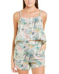 Onia Bree Linen Top - Multicolour