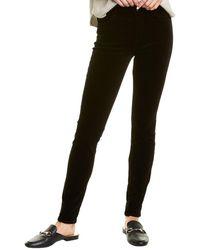 J Brand Maria High-rise Skinny Leg Jean - Black
