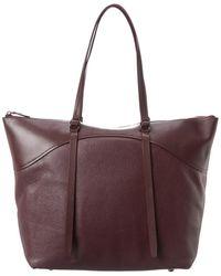 Rebecca Minkoff Signature Top Zip Leather Tote - Multicolour
