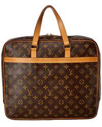 Louis Vuitton Monogram Canvas Pegase Briefcase - Brown