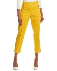 Chaus Dena Zipper Pocket Pant - Yellow