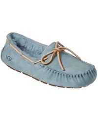 UGG Women's Dakota Water Resistant Suede Slipper - Blue